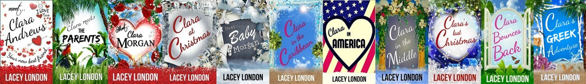 The Clara Andrews Series by Lacey London